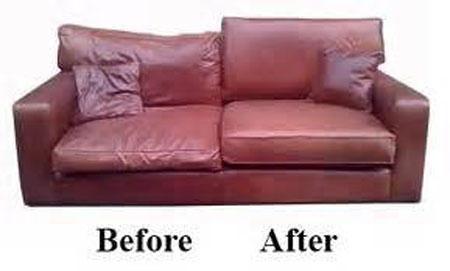 Cushion re-pading