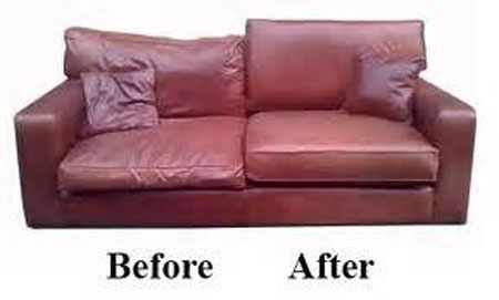 Sofa Cushion Refilling The Sofa Repair Man